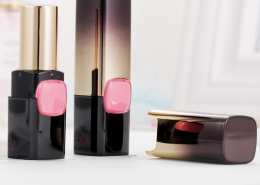 black lipstick tube