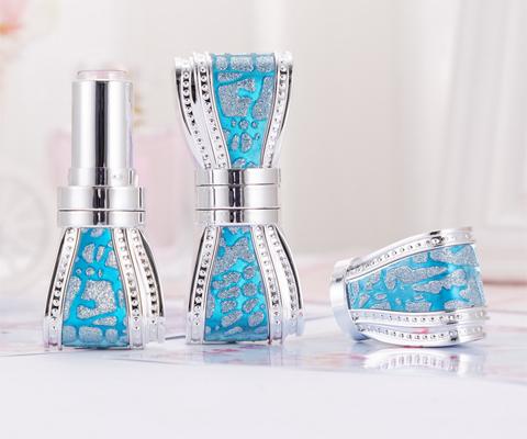 blue butterfly lipstick bottle
