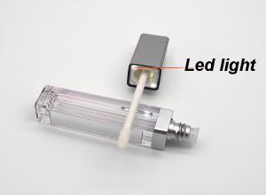 empty lipgloss tube with led