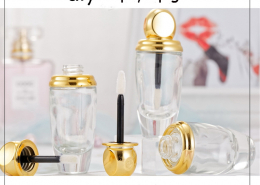 glass lip gloss tube