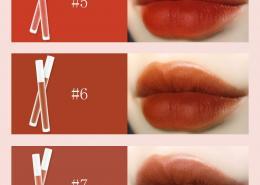 light matte lipstick lip