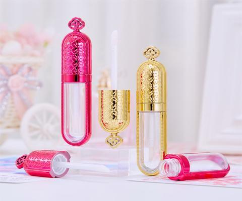 lip gloss packaging gold