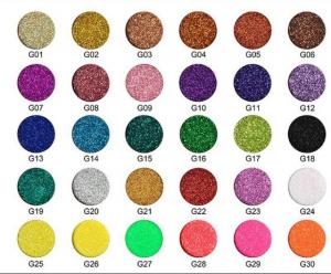 shiny glitter shades