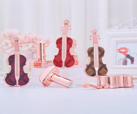 violin lipstick packaging tube