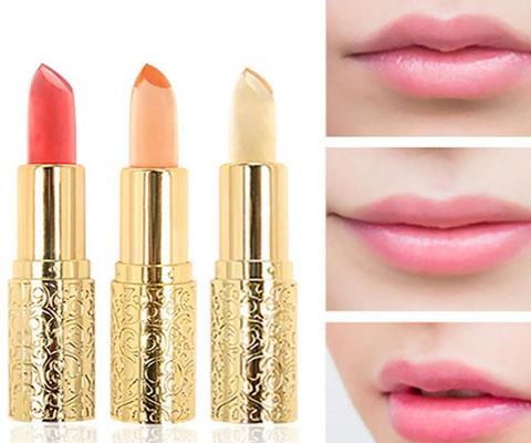 Jelly lipstick swatch