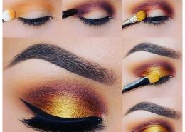 diy eyeshadow test