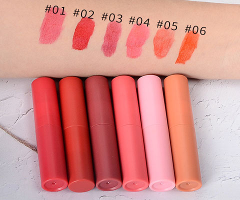 lip tint color swatch