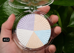 shimmer highlight color two