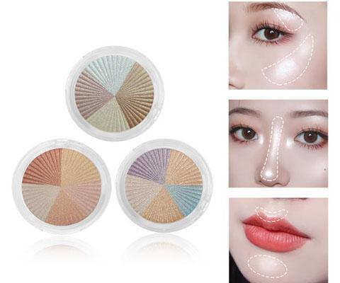 shimmer highlight shades