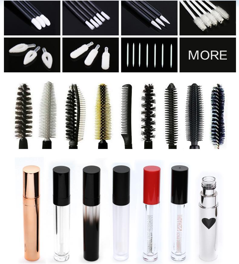 empty lip gloss tubes manufacturer brush