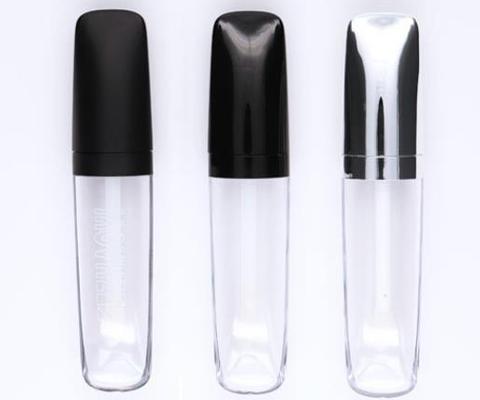 lip gloss tubes manufacturer black cap