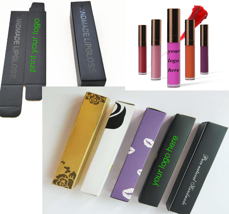 lip gloss vendors with custom labels custom packaging