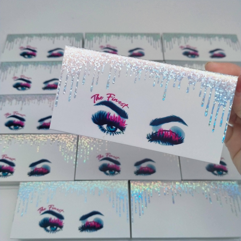 eyelash logo print