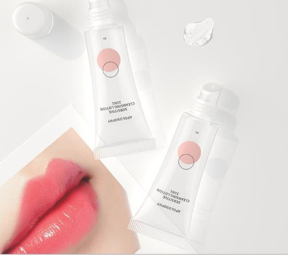 lip gloss in squeeze tube