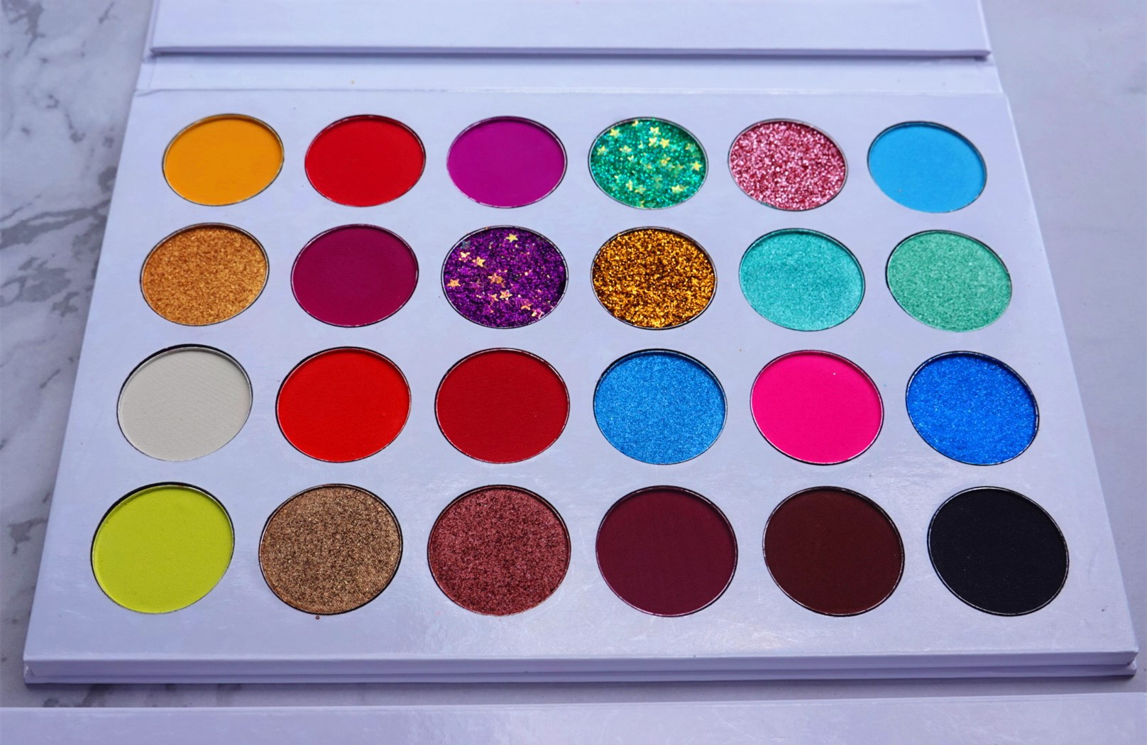 private label eyeshadow shades