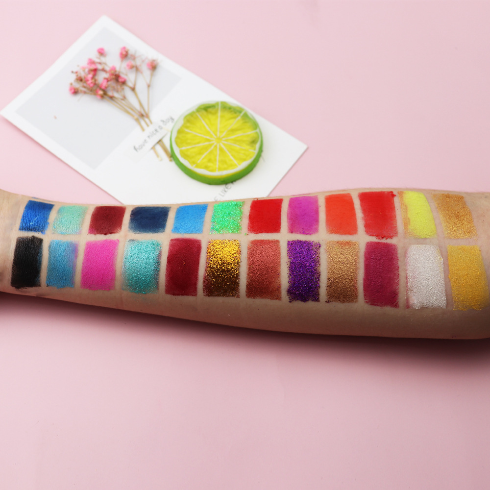 private label eyeshadow swatches