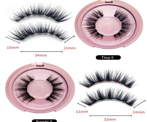 round eyelash