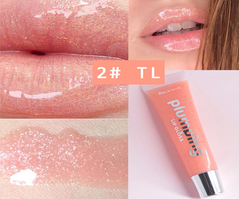 wholesale lip gloss shade two