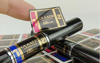 lipstick label sticker
