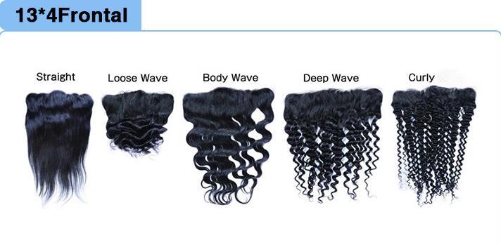 real human hair 13X4 frontal