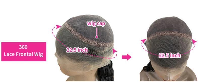 real human hair lace wig 360