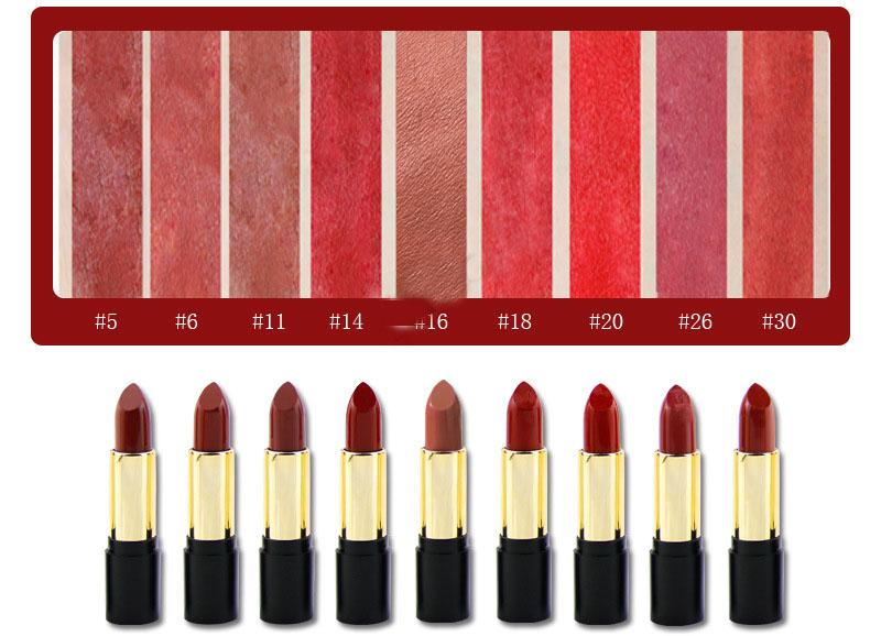 effect of matte lipstick