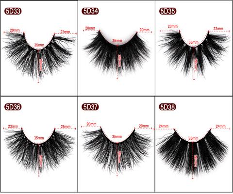 eyelash 5D mink