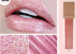 pearlescent lip gloss swatch